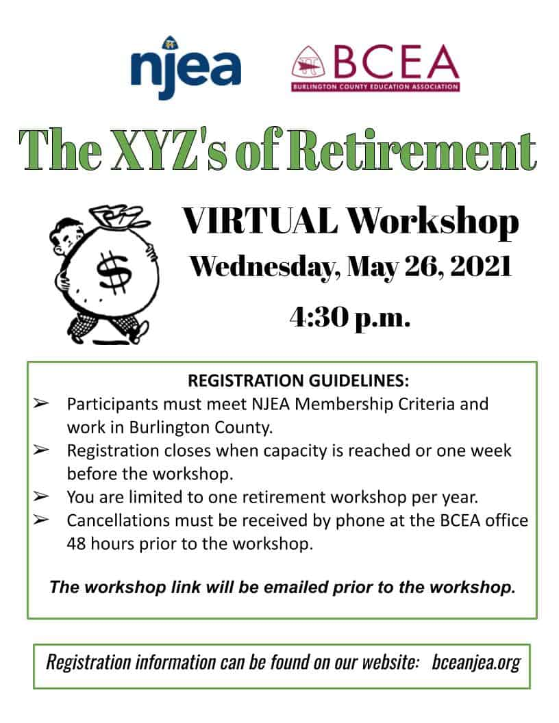 Retirement Workshop May 2021